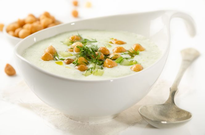 Gurken-Buttermilch-Suppe
