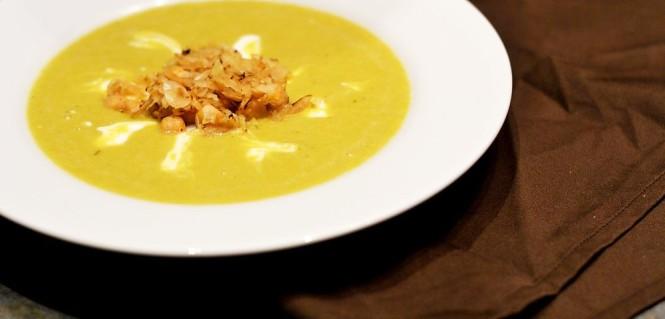 Kichererbsensuppe mit Sauerkraut
