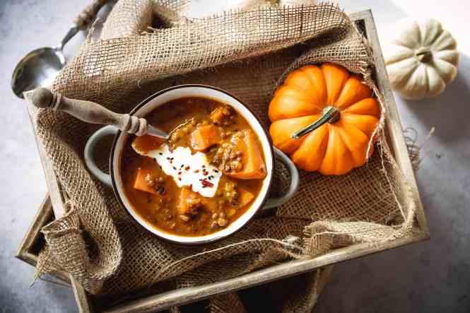 curry-mit-linsen-und-süsskartoffeln
